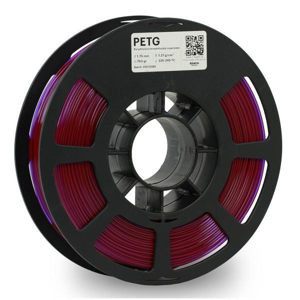Kodak PET-G Transculent Lila 3D-Filament 1,75 / 2,85mm 750g