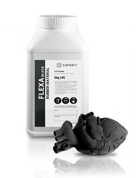 SINTERIT Flexa Black Powder 2 kg