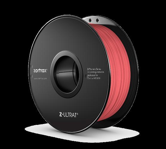 Abverkauf: Zortrax Z-ULTRAT Filament Neon Red 0,8kg 1,75mm