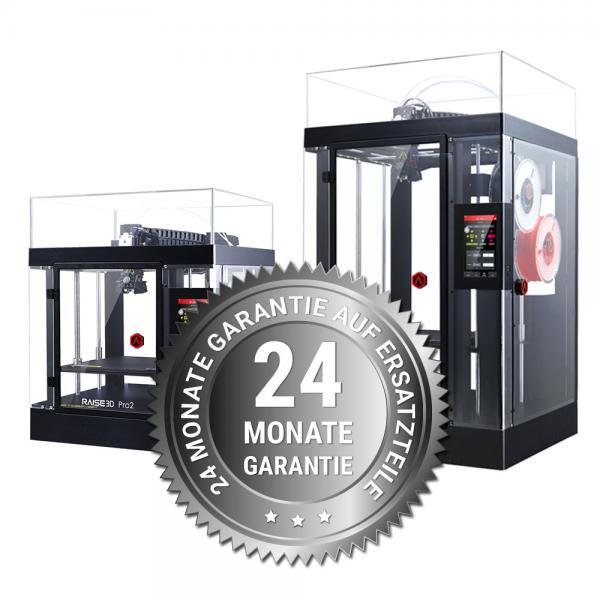 3DDistri Garantieerweiterung auf 24 Monate für Raise3D Pro2 Serie