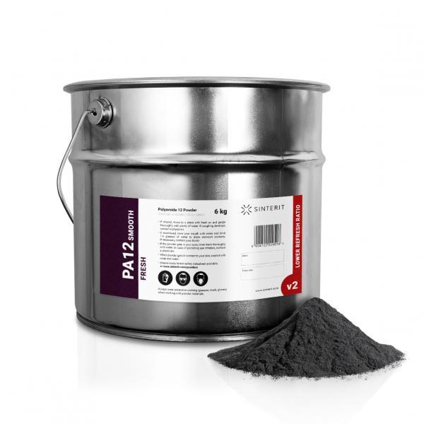 SINTERIT PA12 Smooth V2 Fresh Powder 6 kg / 12 L
