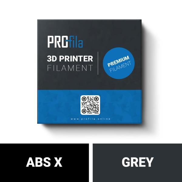 ProFila ABS X grau Filament 1,75mm 1,0kg
