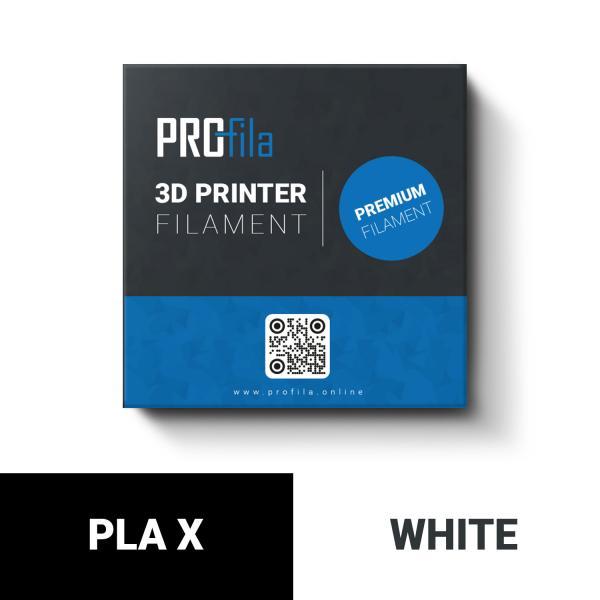 ProFila PLA X weiß Filament 1,75mm 1,0kg
