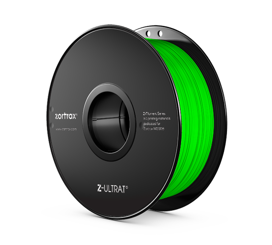 Zortrax Z-ULTRAT Filament Neon Green 0,8kg 1,75mm