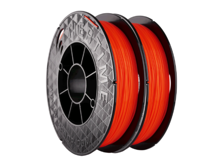 Abverkauf: Tiertime PLA Scarlet Orange 2x 500g Set für UP 3D-Drucker