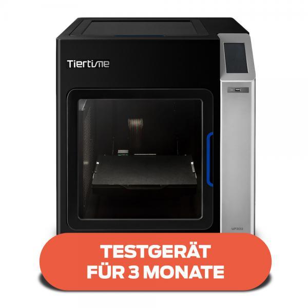 Testgerät für 3 Monate: Tiertime UP300 3D-Drucker komplett geschlossen