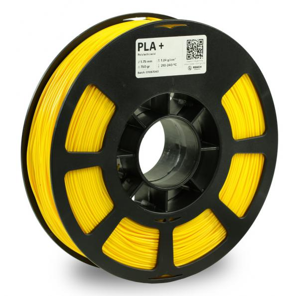 Kodak PLA + Hellgelb 3D-Filament 1,75 / 2,85mm 750g Pantone Yellow U