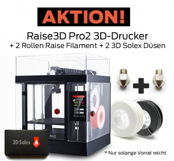Raise3D Pro2 3D-Printer with Dual Extruder