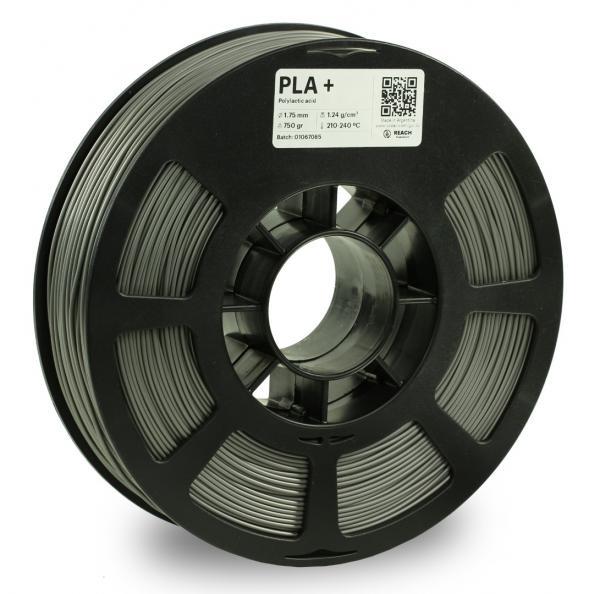Kodak PLA + Grau 3D-Filament 1,75 / 2,85mm 750g Pantone 8402 C