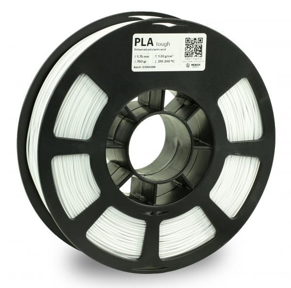 Kodak PLA Tough Weiß 3D-Filament 1,75 / 2,85mm 750g 11-4001