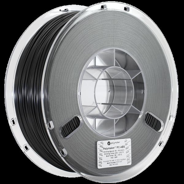 Polymaker PC-ABS Filament Schwarz 1,75mm 1000g
