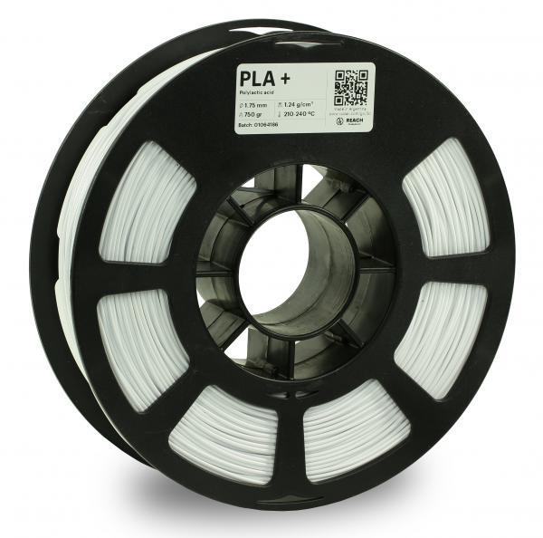 Kodak PLA + Weiß 3D-Filament 1,75 / 2,85mm 750g Pantone 11-4001