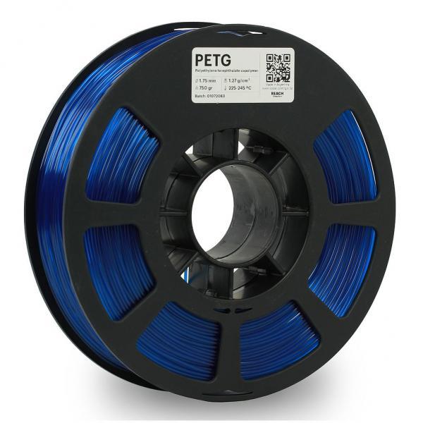 Kodak PET-G Transculent Blau 3D-Filament 1,75 / 2,85mm 750g