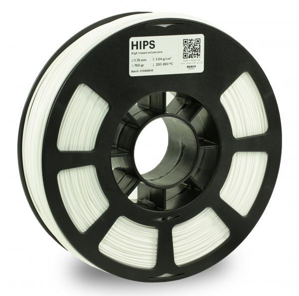 Kodak HIPS Weiß 3D-Filament 1,75 / 2,85mm 750g Pantone 11-4001