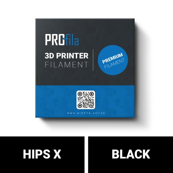 ProFila HIPS X black filament 1,75mm 2,0kg