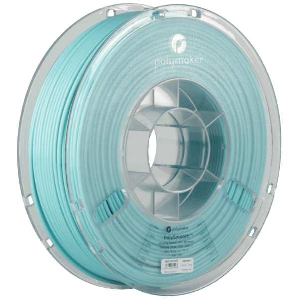 PolyMaker PolySmooth Filament Teal 1,75mm 750g for Polysher