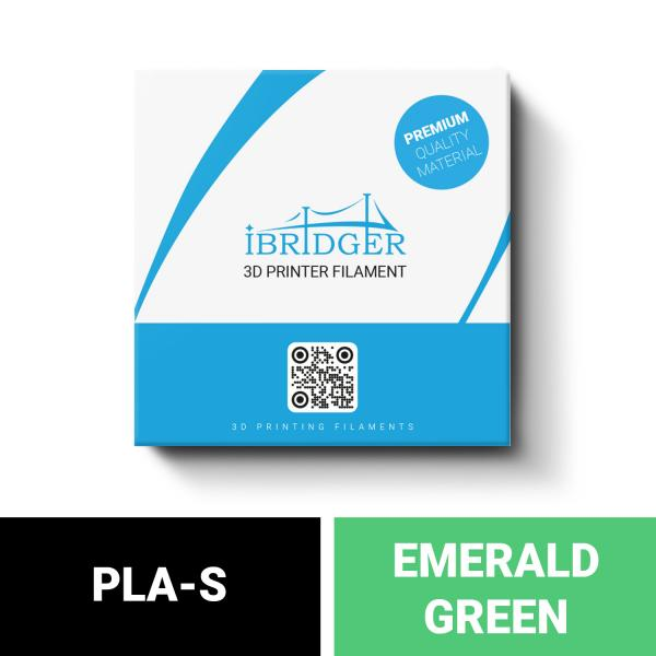 iBridger PLA-S green filament 1kg 1,75mm