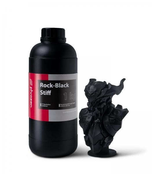 Phrozen Rock-Black Stiff Resin 1KG