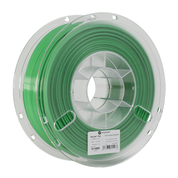 Polymaker PolyLite PLA Filament True Green 1,75mm 1000g
