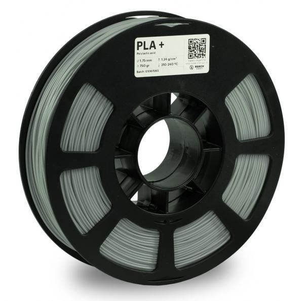 Kodak PLA + Hellgrau 3D-Filament 1,75 / 2,85mm 750g Pantone 428C