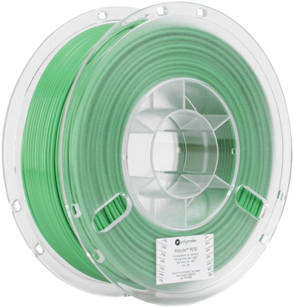 Polymaker PolyLite PETG Green Filament 1,75mm 1000g
