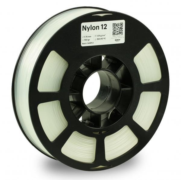 Kodak Nylon 12 Natural 3D-Filament 1,75 / 2,85mm 750g PA12