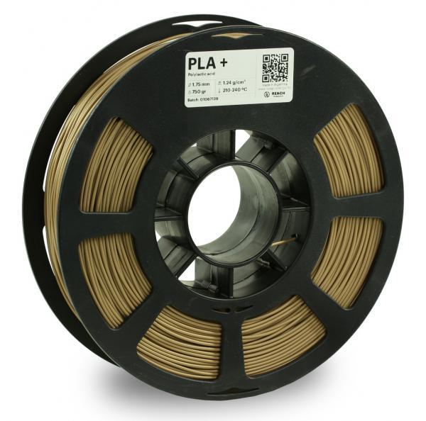 Kodak PLA + Bronze 3D-Filament 1,75 / 2,85mm 750g Pantone 17-1028 mTPX
