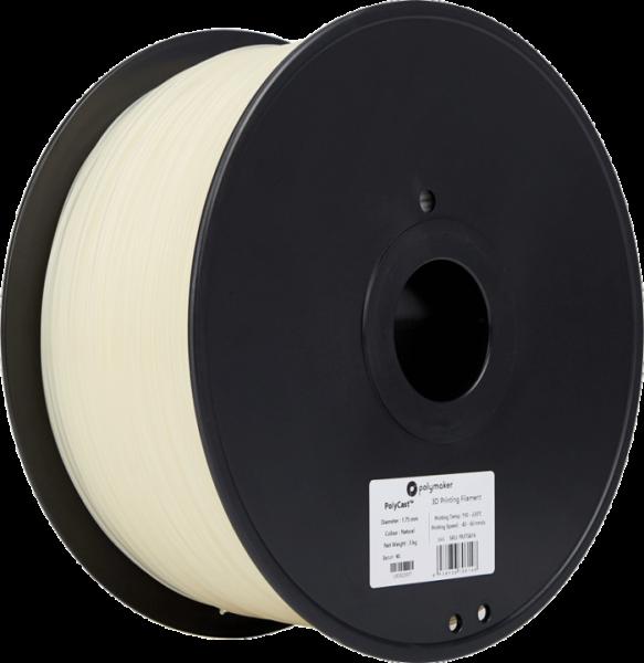 PolyMaker PolyCast Filament Natural 1,75mm 3000g