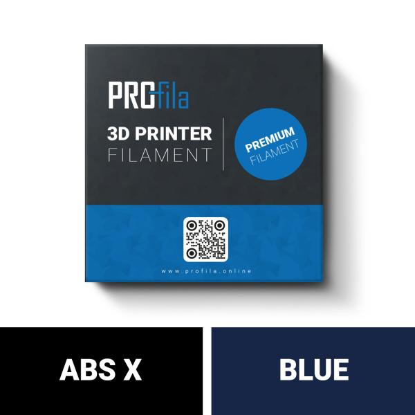 ProFila ABS X blau Filament 1,75mm 1,0kg