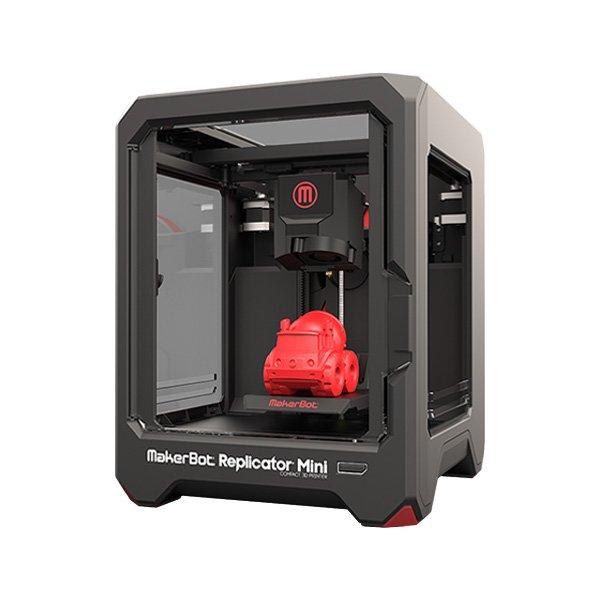 Demogerät: MakerBot Replicator mini + Design CAD 3D MAX