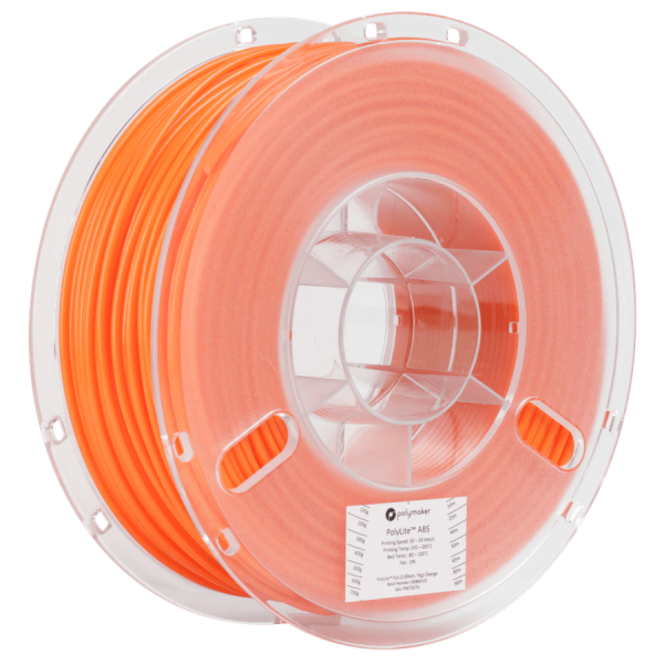 Polymaker PolyLite ABS Filament Orange 1,75mm 1000g