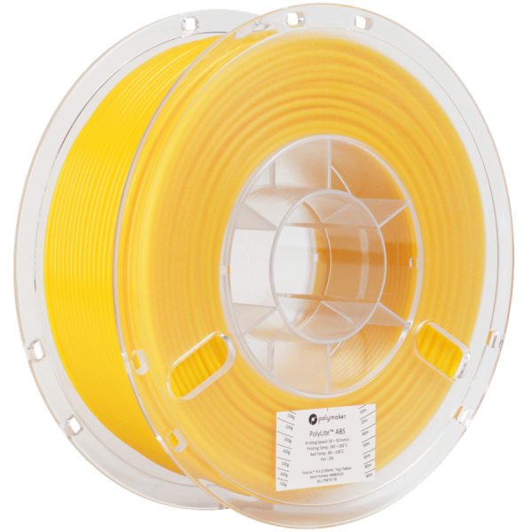 Polymaker PolyLite ABS Filament Yellow 1,75mm 1000g