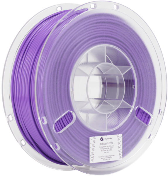 Polymaker PolyLite PETG Purple Filament 1,75mm 1000g