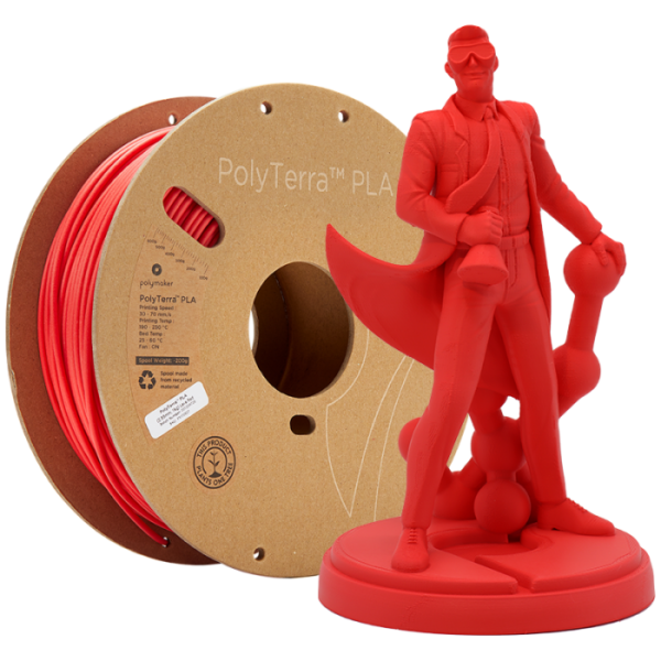 PolyTerra Lava-Red