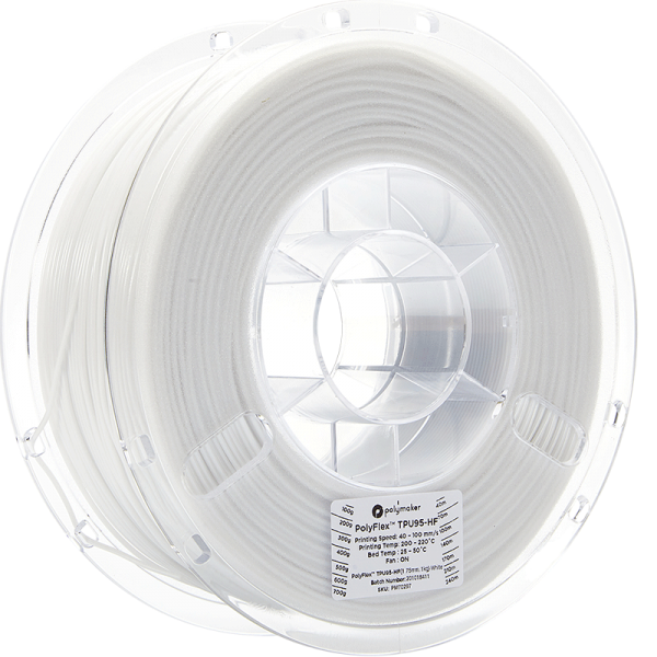 PolyFlex-TPU95-HF-White