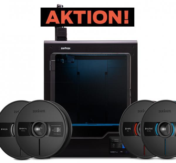 Zortrax M300 Plus mit Filament Set 3D-Drucker