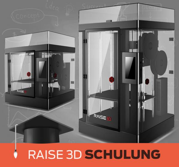 Anwender-Schulung Raise3D N2 / PRO2 Serie