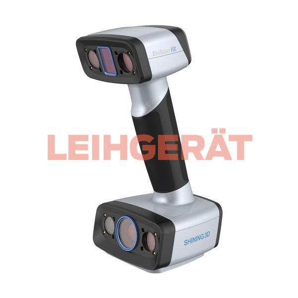 Leihgerät: Shining 3D EinScan-HX - Handheld 3D Scanner mit hybrider (Laser- & LED) Lichtquelle