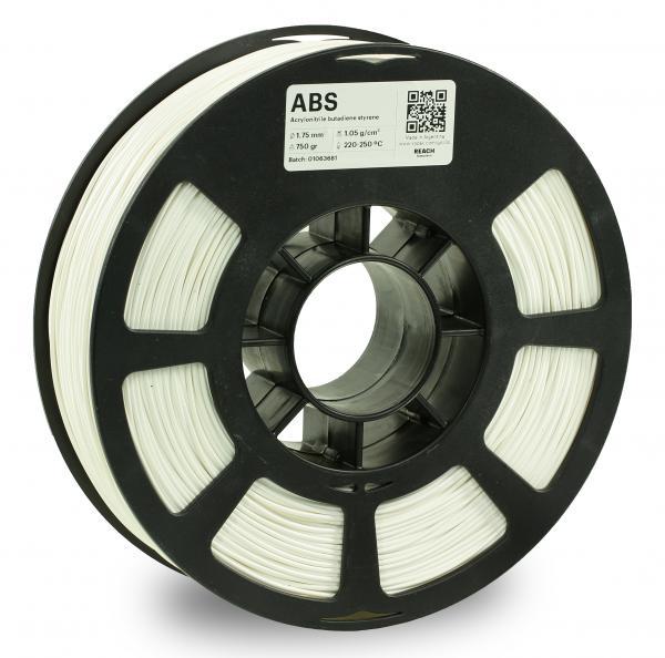 Kodak ABS Weiß 3D-Filament 1,75 / 2,85mm 750g Pantone 11-4001