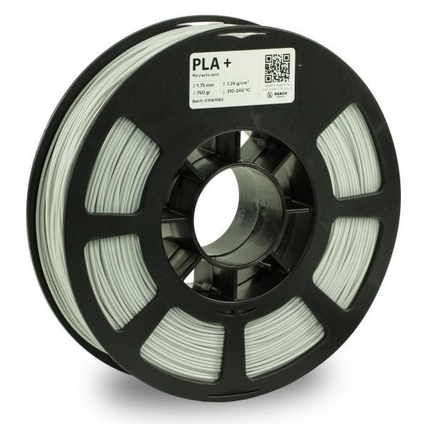 Kodak PLA + Silber 3D-Filament 1,75 / 2,85mm 750g Pantone 427 CP
