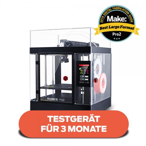 Testgerät für 3 Monate: Raise3D Pro2 3D-Drucker mit Dual-Extruder