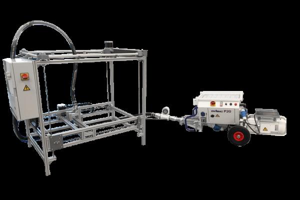 Constructions-3D Mini 3D Betondrucker