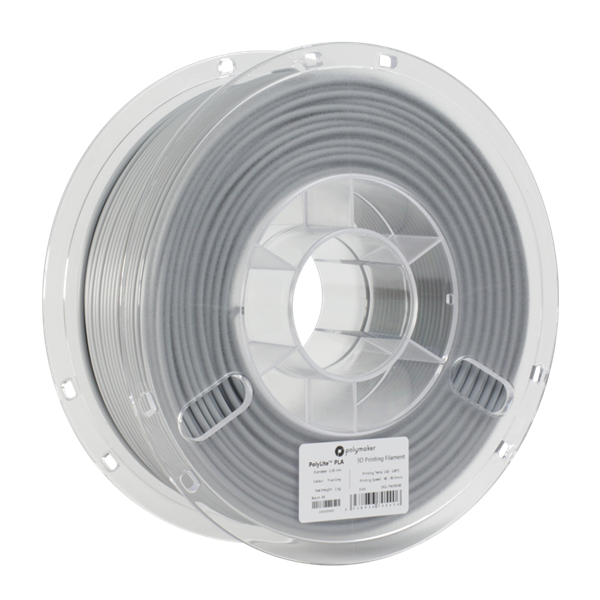 Polymaker PolyLite PLA Filament True Grey 1,75mm 1000g