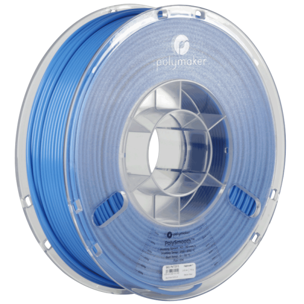PolyMaker PolySmooth Filament Blue 1,75mm 750g for Polysher