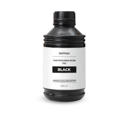 Zortrax Resin PRO Black für Inkspire 500 ml