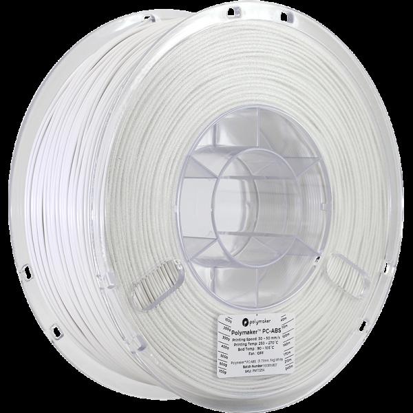 Polymaker PC-ABS Filament Weiß 1,75mm 1000g