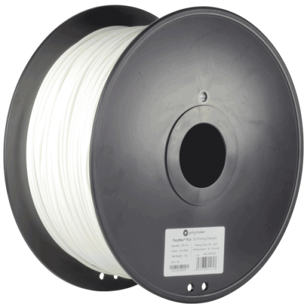 PolyMaker PolyMax PLA True White in 1,75mm 3000g