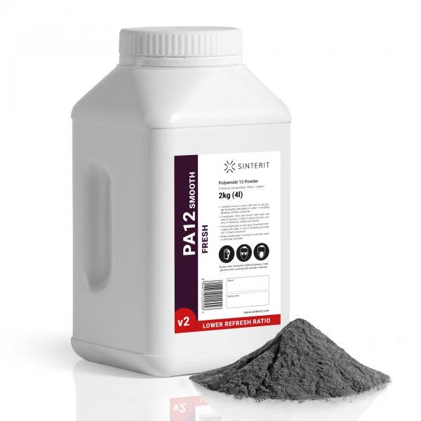 SINTERIT PA12 Smooth V2 Fresh Powder 2 kg / 4 L