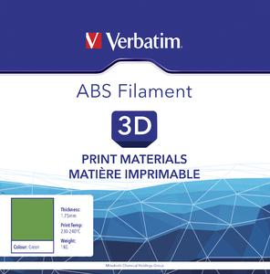 VERBATIM Filament ABS 1,75mm grün 1kg