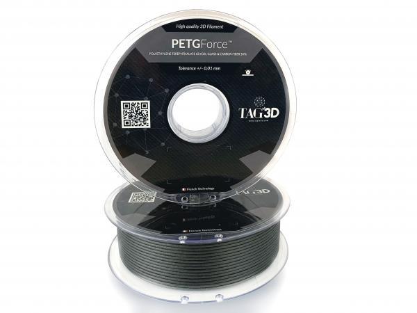 TAGIN3D PETGForce 1,75mm 1000g - mit Kohlefaser und Glasfaser versetzt